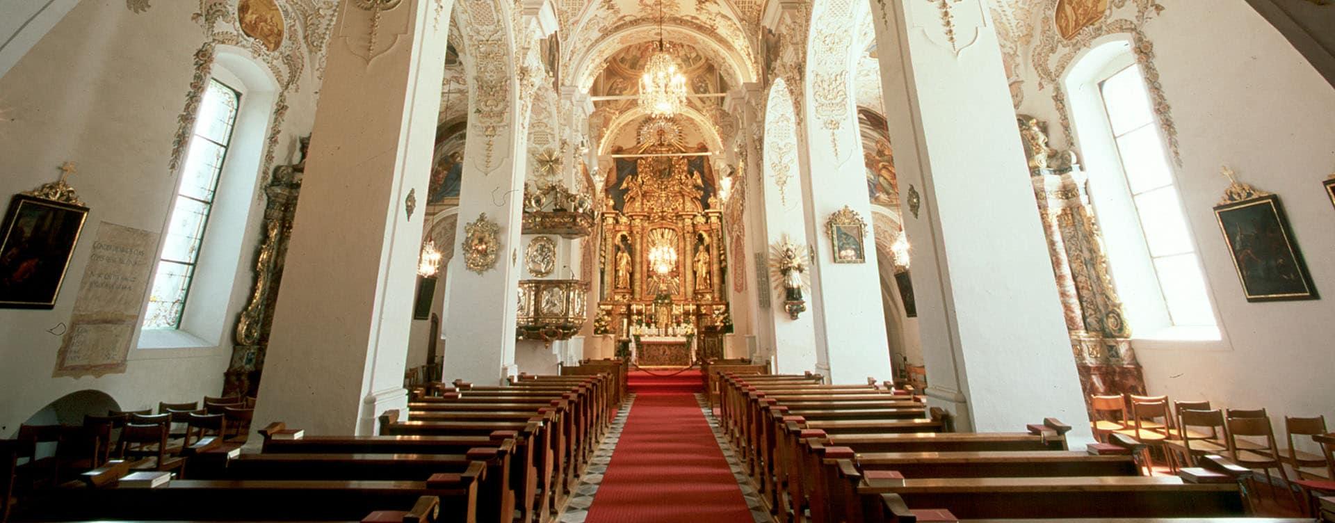 Stiftskirche Ossiach © CS Archiv