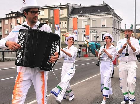 CS unterwegs mit Klakradl © Peter Limpl, ÖBB